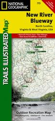 Buy map New River Blueway, Map 773 by National Geographic Maps from United States Maps Store