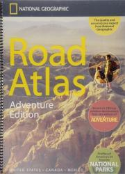 Buy map USA, Canada and Mexico Road Atlas - Adventure Edition by National Geographic Maps from United States Maps Store