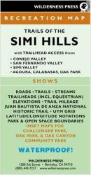 Buy map Simi Hills, California Trails by Wilderness Press from California Maps Store