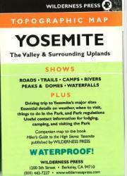 Buy map Yosemite, California Topo Quad by Wilderness Press