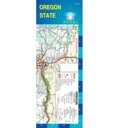 Buy map Oregon, Pearl Map, laminated, with Portland inset by GM Johnson from Oregon Maps Store