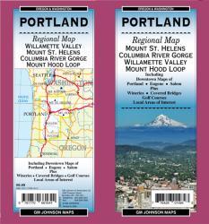 Buy map Portland, Oregon, Regional by GM Johnson from Oregon Maps Store