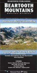Buy map Beartooth Mountains, Montana and Wyoming by Beartooth Publishing from United States Maps Store