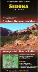 Buy map Sedona, Arizona by Beartooth Publishing from Arizona Maps Store