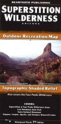 Buy map Superstition Wilderness, Arizona by Beartooth Publishing from Arizona Maps Store