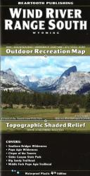Buy map Wind River Range, South, Wyoming by Beartooth Publishing from Wyoming Maps Store