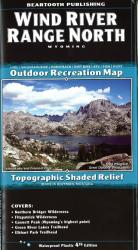 Buy map Wind River Range, North, Wyoming by Beartooth Publishing