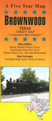 Buy map Brownwood, Texas by Five Star Maps, Inc.