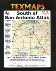 Buy map San Antonio, South, Texas Atlas by Texmaps from Texas Maps Store
