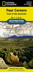 Buy map Four Corners, Trail of the Ancients DestinationMap by National Geographic Maps from United States Maps Store