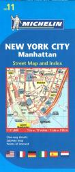 Buy map Manhattan, New York City (11) by Michelin Maps and Guides from New York Maps Store