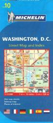 Buy map Washington, DC (10) by Michelin Maps and Guides from District of Columbia Maps Store
