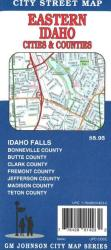 Buy map Idaho Falls, Rexburg, Rigby, St. Anthony and Eastern Idaho by GM Johnson from Idaho Maps Store