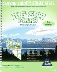Buy map Canyon County, Idaho, Atlas by Big Sky Maps from Idaho Maps Store
