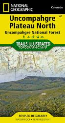 Buy map Uncompahgre Plateau, North, Map 147 by National Geographic Maps from Colorado Maps Store