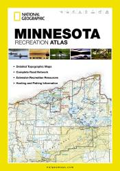 Buy map Minnesota Recreation Atlas by National Geographic Maps from Minnesota Maps Store