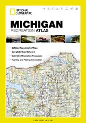 Buy map Michigan Recreation Atlas by National Geographic Maps from Michigan Maps Store