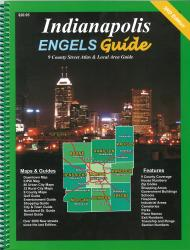 Buy map Indianapolis, Indiana, Atlas by Engels Guide from Indiana Maps Store