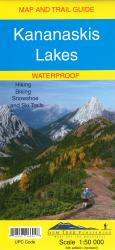 Buy map Kananaskis Lakes, waterproof by Gem Trek