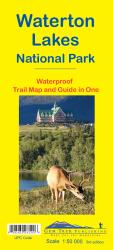 Buy map Waterton Lakes National Park, Alberta and British Columbia, waterproof by Gem Trek from Canada Maps Store