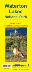 Buy map Waterton Lakes National Park, Alberta and British Columbia, waterproof by Gem Trek from Canada Maps Store