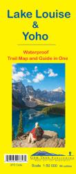 Buy map Lake Louise and Yoho, British Columbia and Alberta, waterproof by Gem Trek from Canada Maps Store