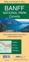 Buy map Banff National Park by Gem Trek from Canada Maps Store