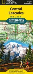 Buy map Cascades, Central DestinationMap by National Geographic Maps from United States Maps Store