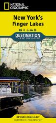 Buy map New Yorks Finger Lakes DestinationMap by National Geographic Maps from New York Maps Store