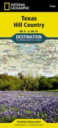 Buy map Texas Hill Country DestinationMap by National Geographic Maps from Texas Maps Store