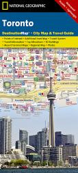 Buy map Toronto, Ontario DestinationMap by National Geographic Maps from Ontario Maps Store