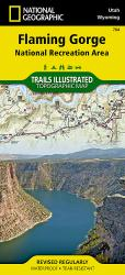 Buy map Flaming Gorge NRA and Eastern Uintas, Utah, Map 704 by National Geographic Maps from Utah Maps Store