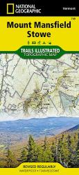 Buy map Mount Mansfield and Stowe, Map 749 by National Geographic Maps from Vermont Maps Store