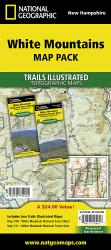 Buy map White Mountains National Forest, Map Pack Bundle by National Geographic Maps from New Hampshire Maps Store