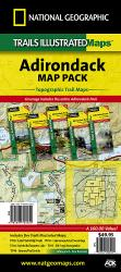 Buy map Adirondack Park, Map Pack Bundle by National Geographic Maps from New York Maps Store