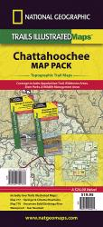 Buy map Chattahoochee National Forest, Map Pack Bundle by National Geographic Maps from Georgia Maps Store