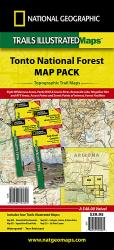 Buy map Tonto National Forest, Map Pack Bundle by National Geographic Maps from Arizona Maps Store
