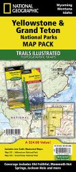 Buy map Yellowstone and Grand Teton National Parks, Map Pack Bundle by National Geographic Maps from Wyoming Maps Store