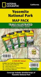 Buy map Yosemite National Park, Map Pack Bundle by National Geographic Maps from California Maps Store