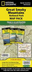 Buy map Great Smoky Mountains National Park, Map Pack Bundle by National Geographic Maps from Tennessee Maps Store