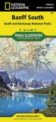 Buy map Banff South including Banff and Kootenay National Parks by National Geographic Maps from Canada Maps Store