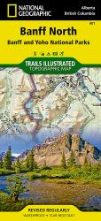 Buy map Banff, North, including Banff and Yoho Natl Parks, Map 901 by National Geographic Maps from Canada Maps Store