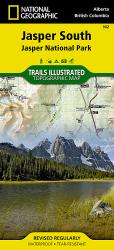 Buy map Jasper, South, Map 902 by National Geographic Maps from Canada Maps Store