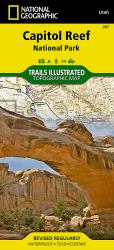 Buy map Capitol Reef National Park, Map 267 by National Geographic Maps from Utah Maps Store