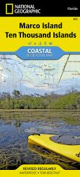 Buy map Ten Thousand Islands, Marco Island, Map 402 by National Geographic Maps from Florida Maps Store