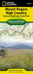 Buy map Mount Rogers High Country, Map 318 by National Geographic Maps from Virginia Maps Store