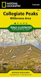 Buy map Collegiate Peaks Wilderness, Map 148 by National Geographic Maps from Colorado Maps Store