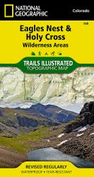 Buy map Holy Cross and Eagles Nest Wilderness, Map 149 by National Geographic Maps from Colorado Maps Store