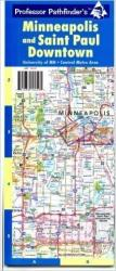 Buy map Minneapolis and Saint Paul, Minnesota, Downtown Area Maps by Hedberg Maps