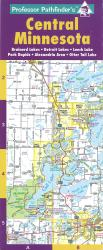 Buy map Central Minnesota by Hedberg Maps from Minnesota Maps Store